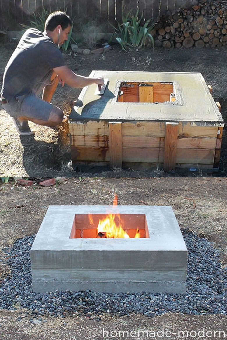 24 Best Outdoor Fire Pit Ideas To Diy Or Buy Outdoor Fire Pit Designs Outdoor Fire Pit Fire Pit Backyard Modern patio fire pit designs