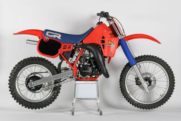 1984 Cr125 Classic Bikes Honda Cr Motocross