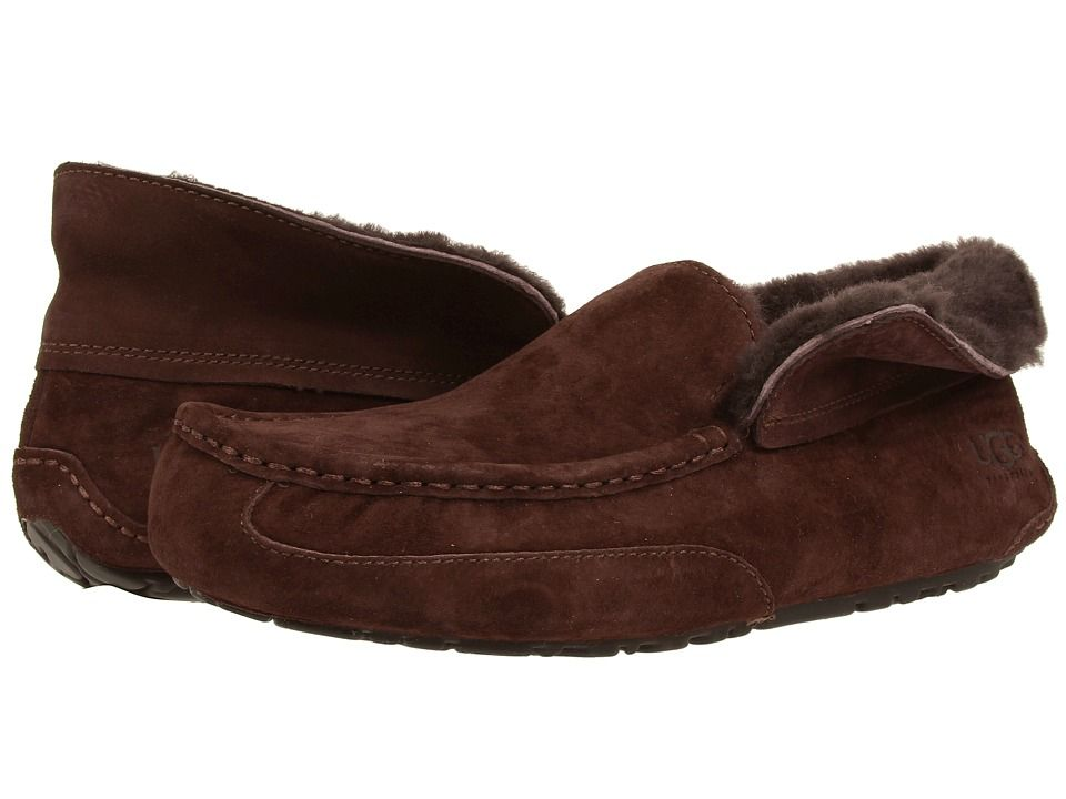 Mens Slippers UGG Grantt Stout Suede