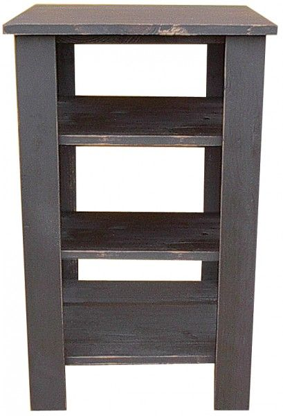Genial Sawdust City LLC   Tall End Table With Shelves, $190.00  (http://www.sawdustcityllc.com/tall End Table With Shelves/)