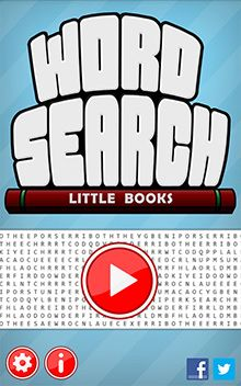 Word Search - Little Books home screen