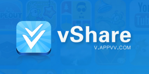 Download free and Install vShare AppVV Store, vShare Pro