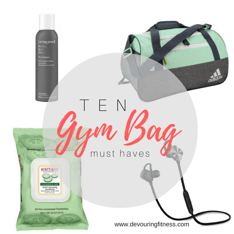 Awesome ideas to pack my gym bag with!