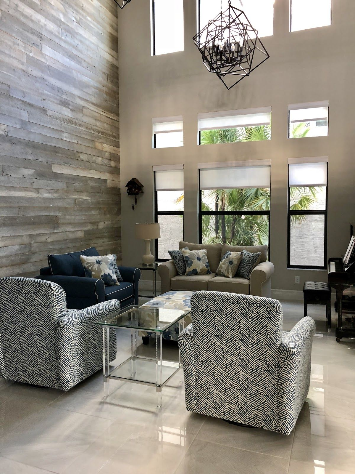 Add Texture To A Soft Room With A Reclaimed Wood Accent Wall For An Earthy Swoon Worthy Effect Wood Panel Walls Reclaimed Wood Wall Reclaimed Wood Wall Panels