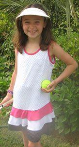Tail Junior Girls Toddler Tennis Dresses Treats Girl Tennis Outfit Golf Outfits Women Tennis Clothes
