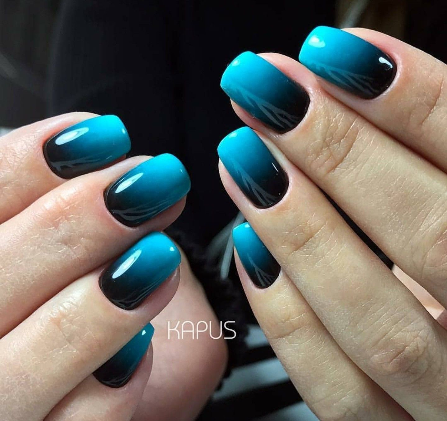 A Mix Of Bright Ombre Nails Pretty Acrylic Nails Gel Nails