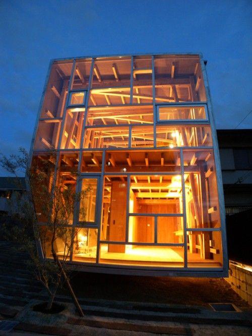 House of Cedar  Architect:Suga Atelier  Osaka, Japan