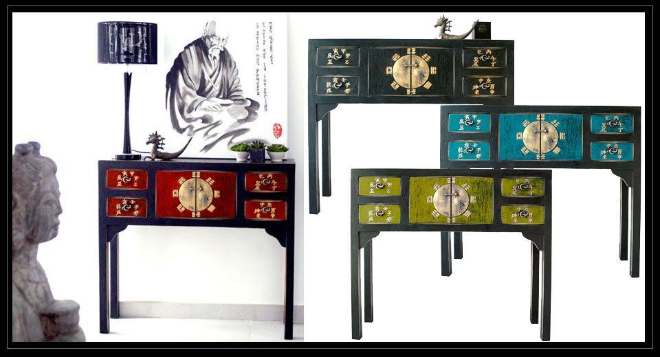 Te gustar a tener una consola de recibidor de estilo oriental totalmente personalizada tu - Muebles orientales madrid ...