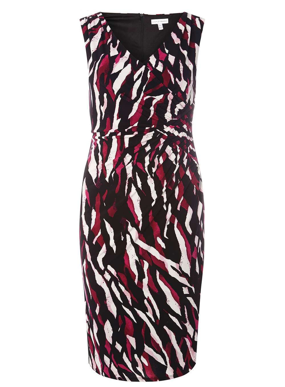 235785d64d   Lily   Franc Abstract Animal Print Dress - View All Dresses - Dresses - Dorothy  Perkins United States
