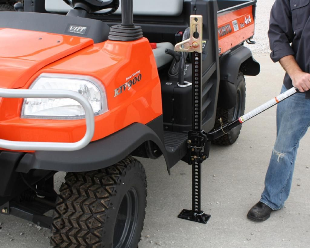Ten Items You Should Always Take Off-Roading - 2. Hi-lift jack