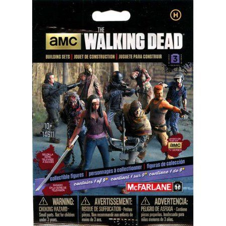 Blind Pack Figures Free Shipping The Walking Dead AMC//McFarlane