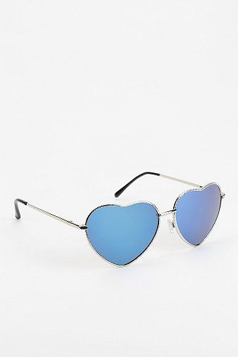 ec7998e044a Heart shaped glasses from Urban Outfitters only  16
