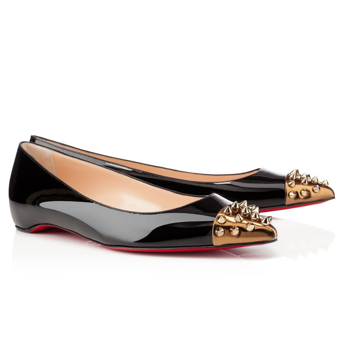 christian louboutin flat shoes