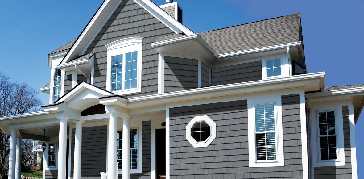 Found On Bing From Eastsidelbr Com Grey Houses Shingling House Styles