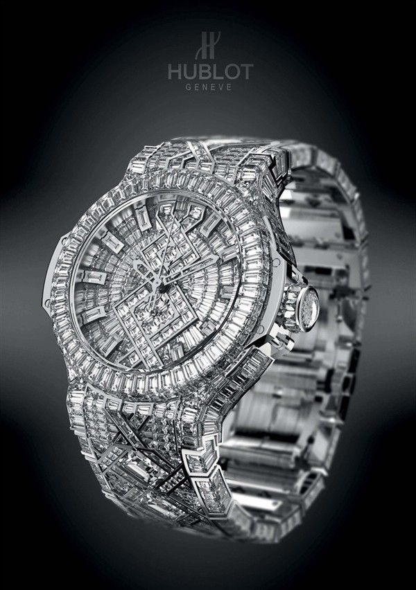 76535bb37a5 Hublot   5 Million watch.