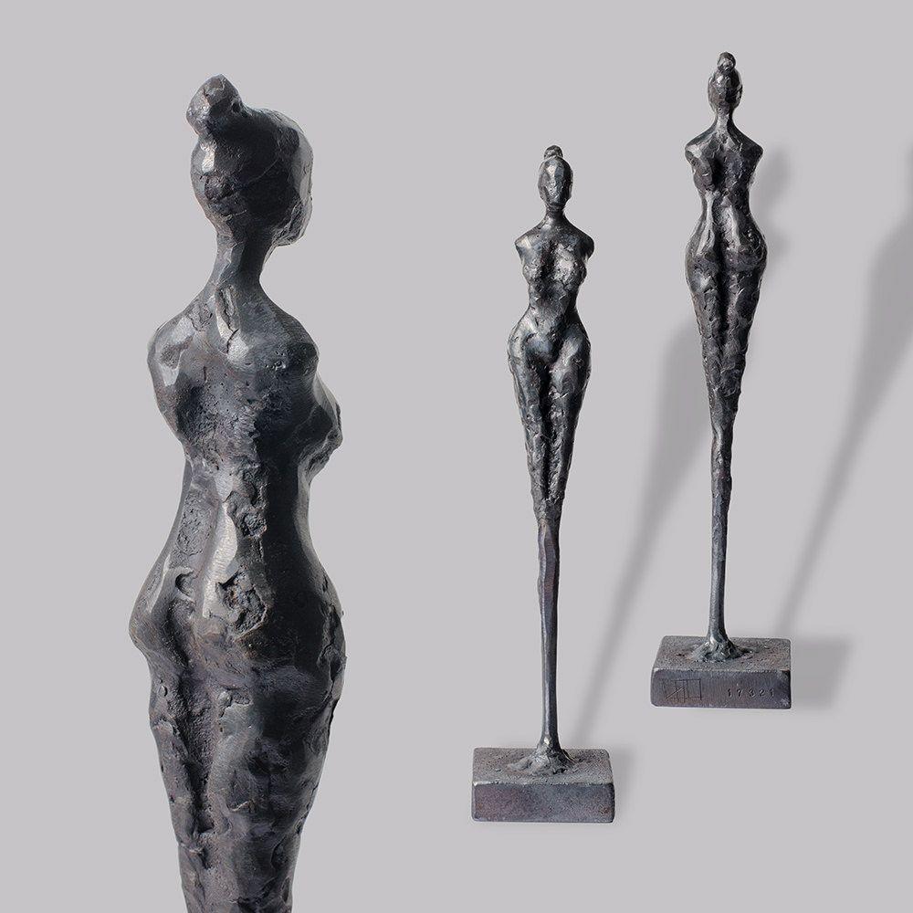 Skulptur, Unikat aus Eisen. Kein Guss! Handgefertigte weibliche ...