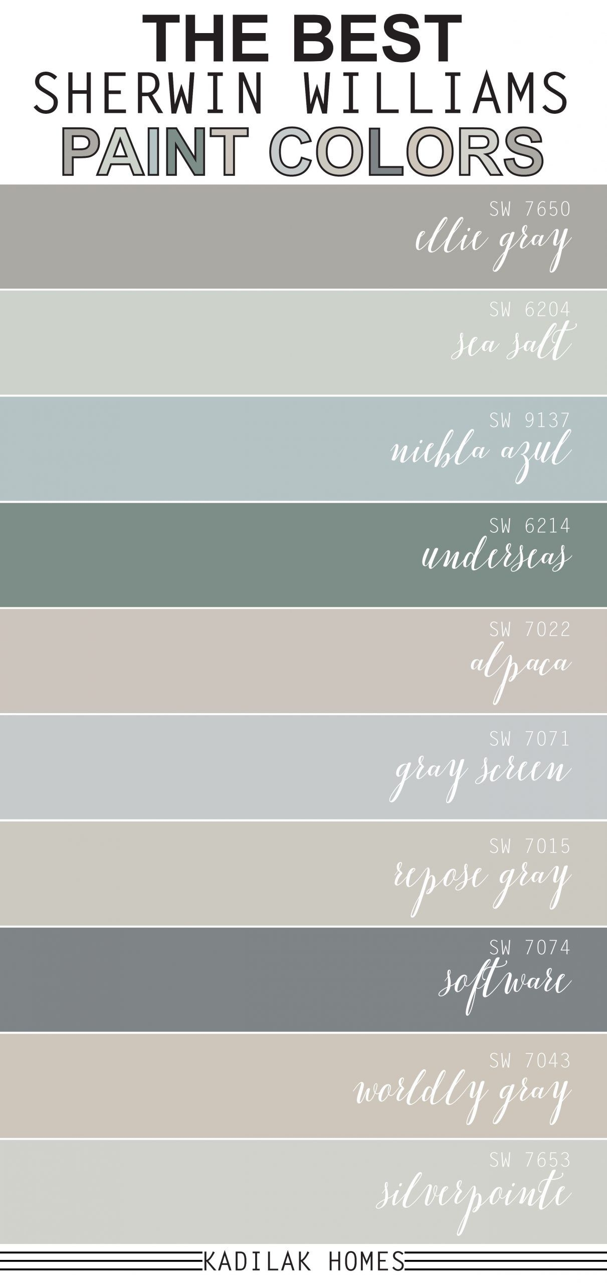 The Best Sherwin Williams Paint Colors In 2020 Malfarben Zimmer