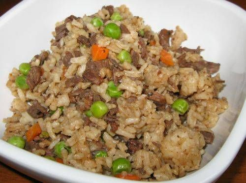 Serves 4 Ingredients 1 Lb Lean Ground Beef 2 Cloves Garlic Crushed 1 Teaspoon F Fried Rice Recipe Beef Fried Rice Vegetable Fried Rice Recipe