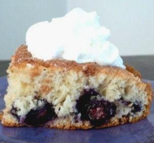 Overnight Blueberry Coffee Cake