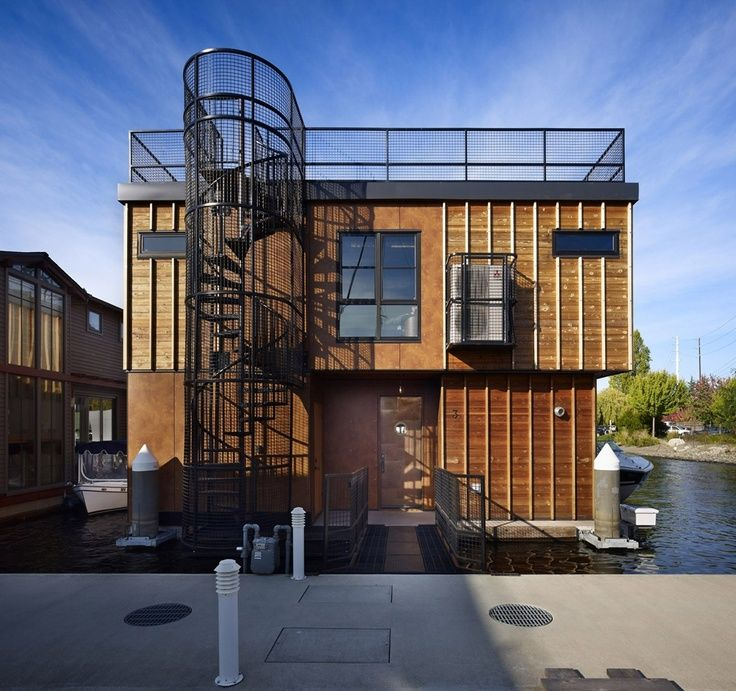 portland floating homes - Google Search | 改造 | Pinterest on wood homes designs, cargo homes designs, concrete homes designs, mandala homes designs, container homes designs, cinder block homes designs, earth homes designs, stucco homes designs, metal homes designs, victory homes designs, solar energy homes designs,