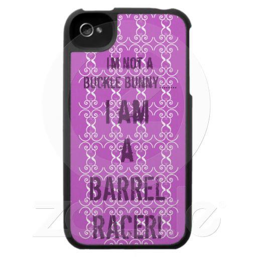 I am a Barrel Racer! ~ Iphone Case