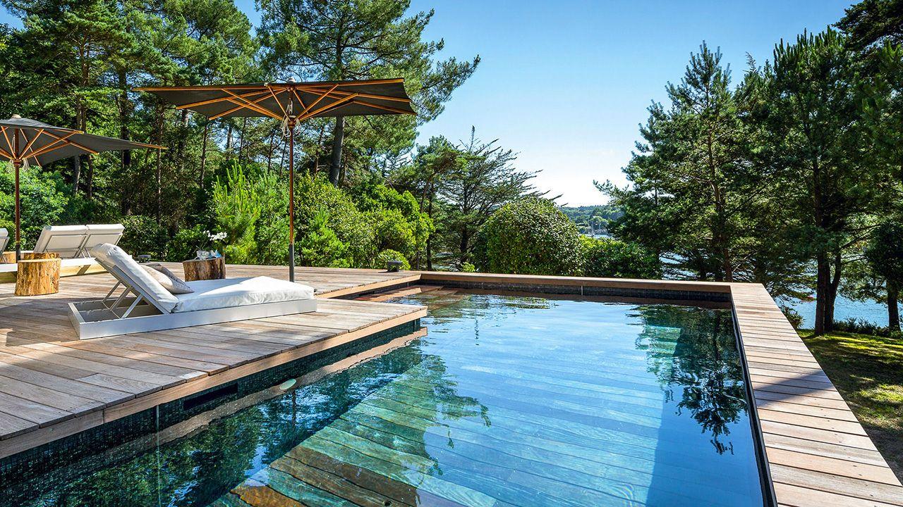 Piscine moderne swiming pool piscines collection en 2019 hidden pool pool landscaping et - Piscine moderne ...