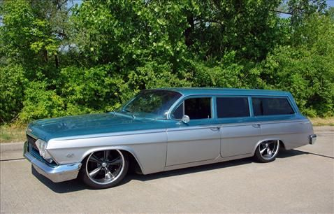 1962 Chevrolet Bel Air Station Wagon At Fast Lane Classic Cars