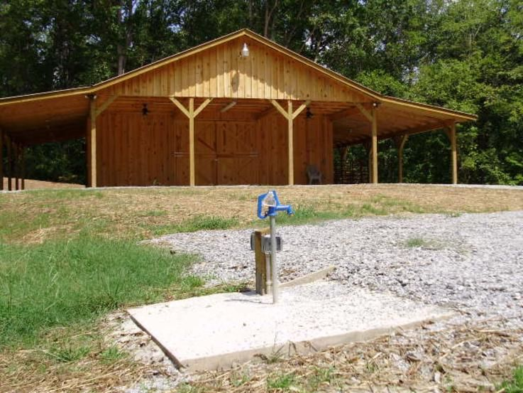 Storage Shed And Small Pole Barn Plans Order Gable Or Gambrel Roof From 8x10 To 12x20 Barns Open Equipment
