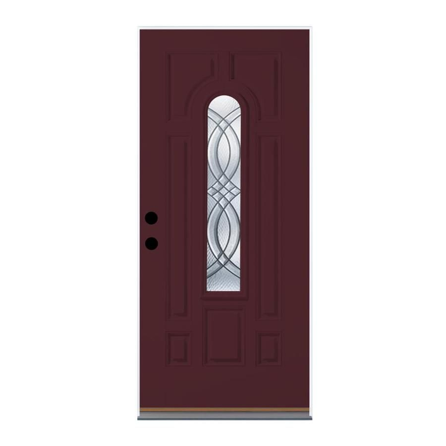Therma Tru Benchmark Doors Terracourt Decorative Glass Right Hand