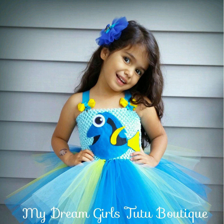 Disney Finding Nemo Dory Tutu Deluxe Toddler Costume