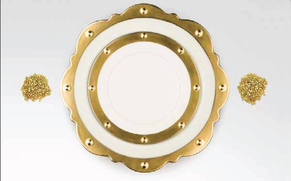 RAK Porcelain. So rich, so luxurious......your guests will be impressed.