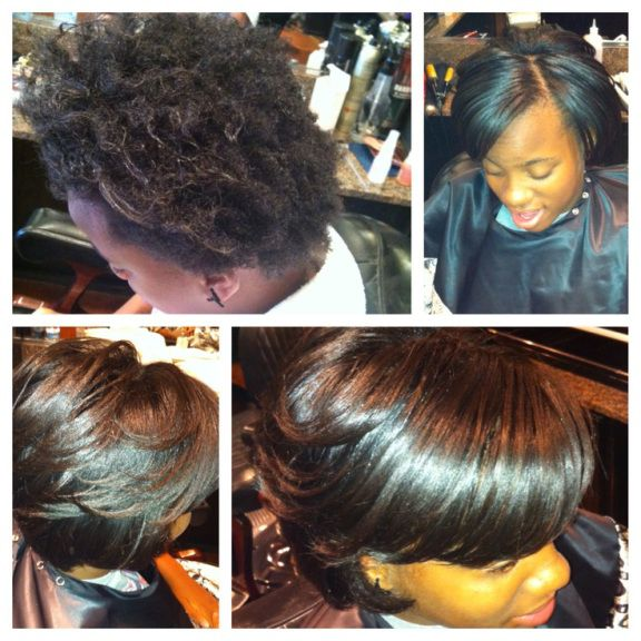 Are Brazilian Blowouts Bad For Black Hair Blowout Hair Short Natural Hair Styles Natural Hair Styles