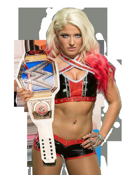 eeda6cc9a3ec Alexa Bliss - SmackDown Women s Champion render v2 by BadLuckShinska. deviantart.com on  DeviantArt