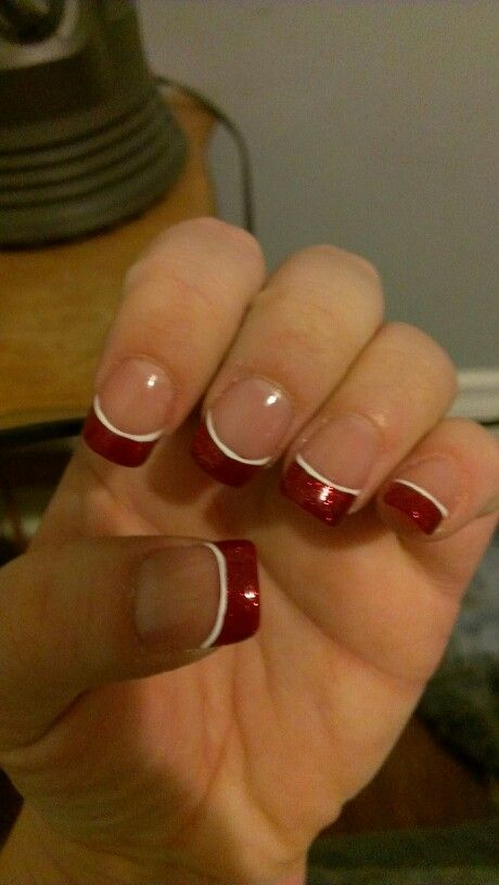 My nails that I had done for Christmas. :)