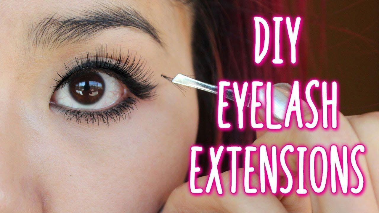 1e3b39252e8 How to Apply Individual Lashes - DIY eyelash extensions | Beauty ...