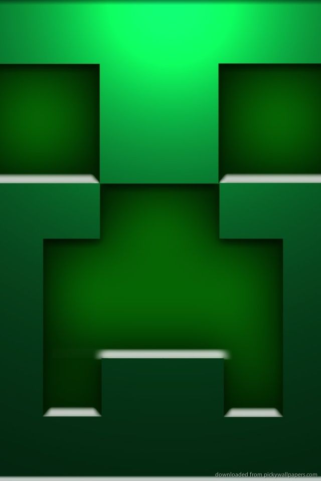 Minecraft Creeper Face Jpg 640 960 Minecraft Wallpaper Cool Backgrounds Wallpapers Creepers