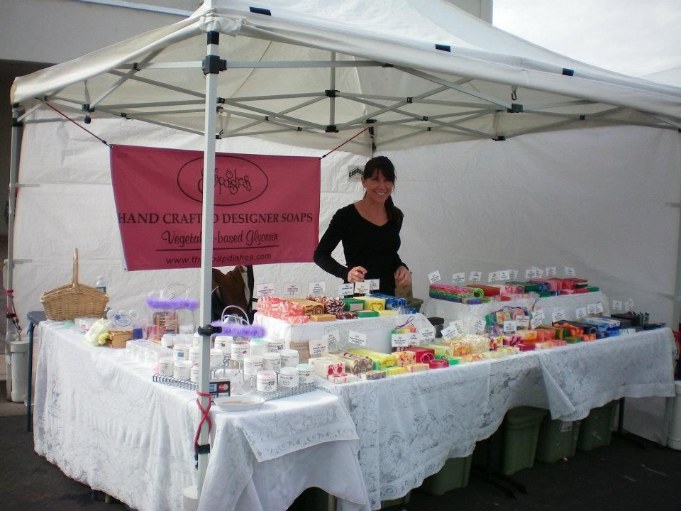 Market Stand Designs : I like this farmers market stand nice and simple soap