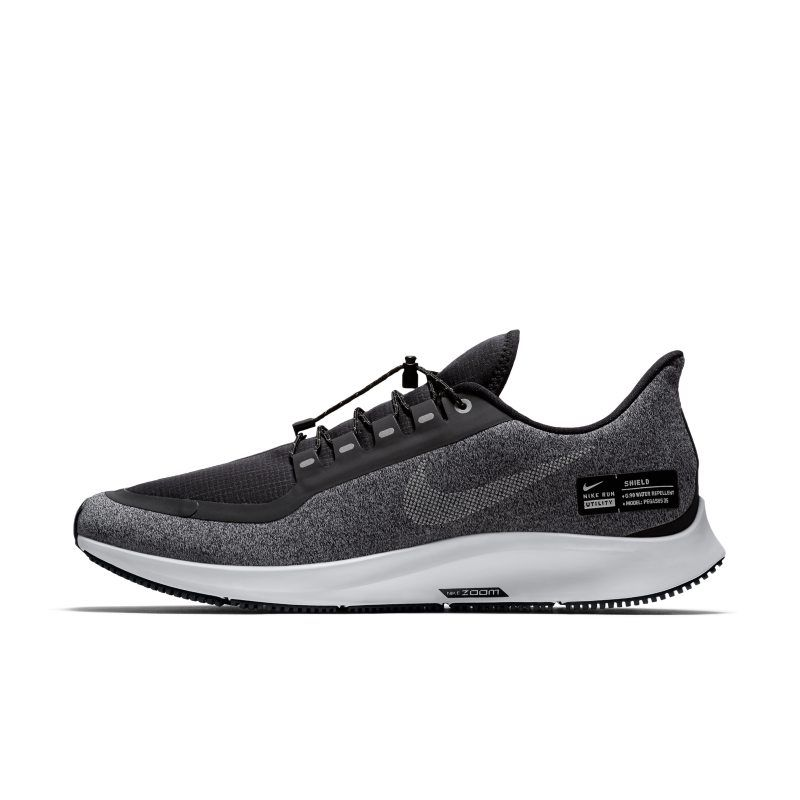 Air Zoom Pegasus 35 Shield Water Repellent Men S Running Shoe Running Shoes For Men Nike Air Zoom Pegasus Black Running Shoes