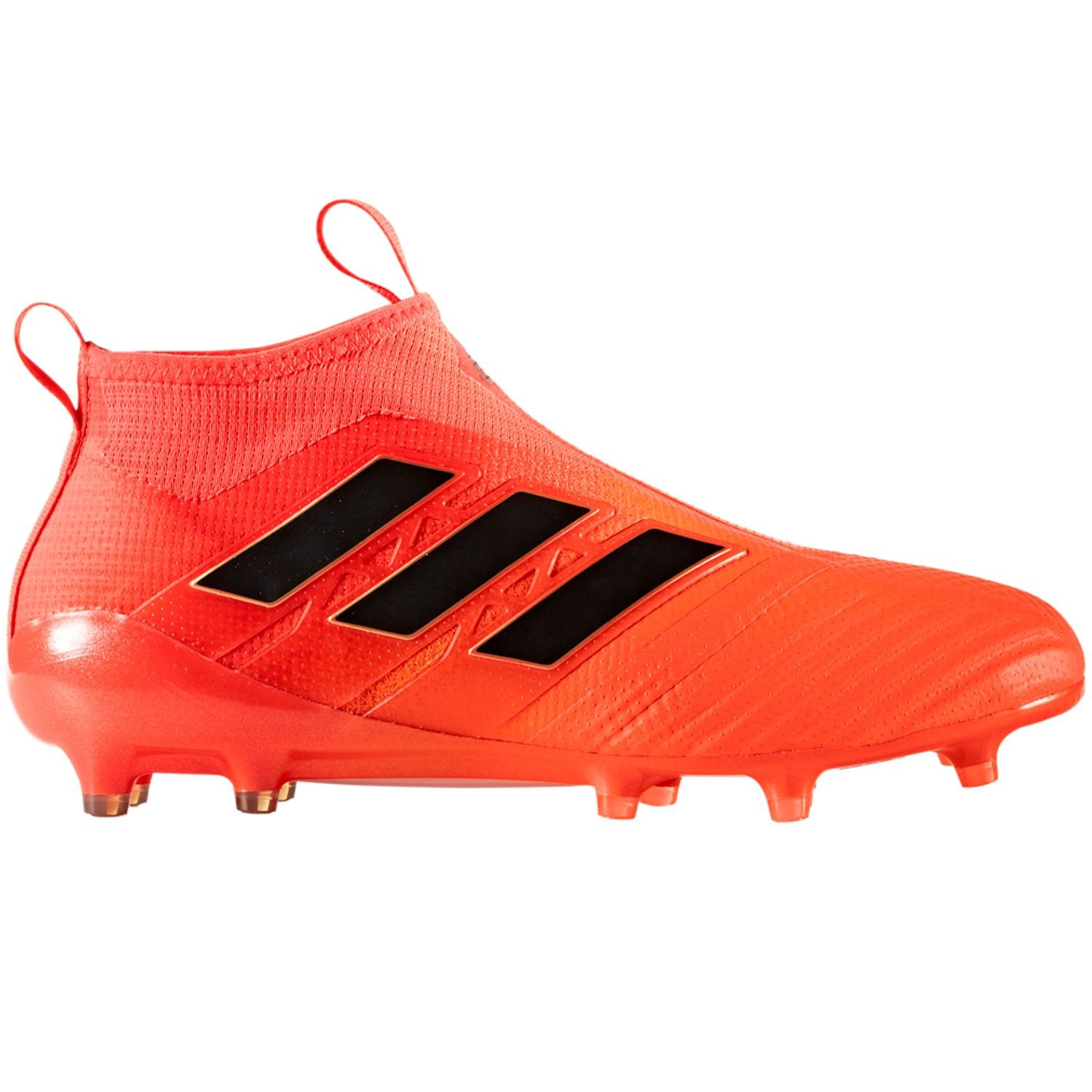 brand new a2ac3 aa6b3 Adidas Soccer Cleats  Adidas ACE 17+ Purecontrol FG Soccer Cleats Solar  Orange-Core BlackSolar Red.The energy of aqua and legendary ink coloring  adds to the ...