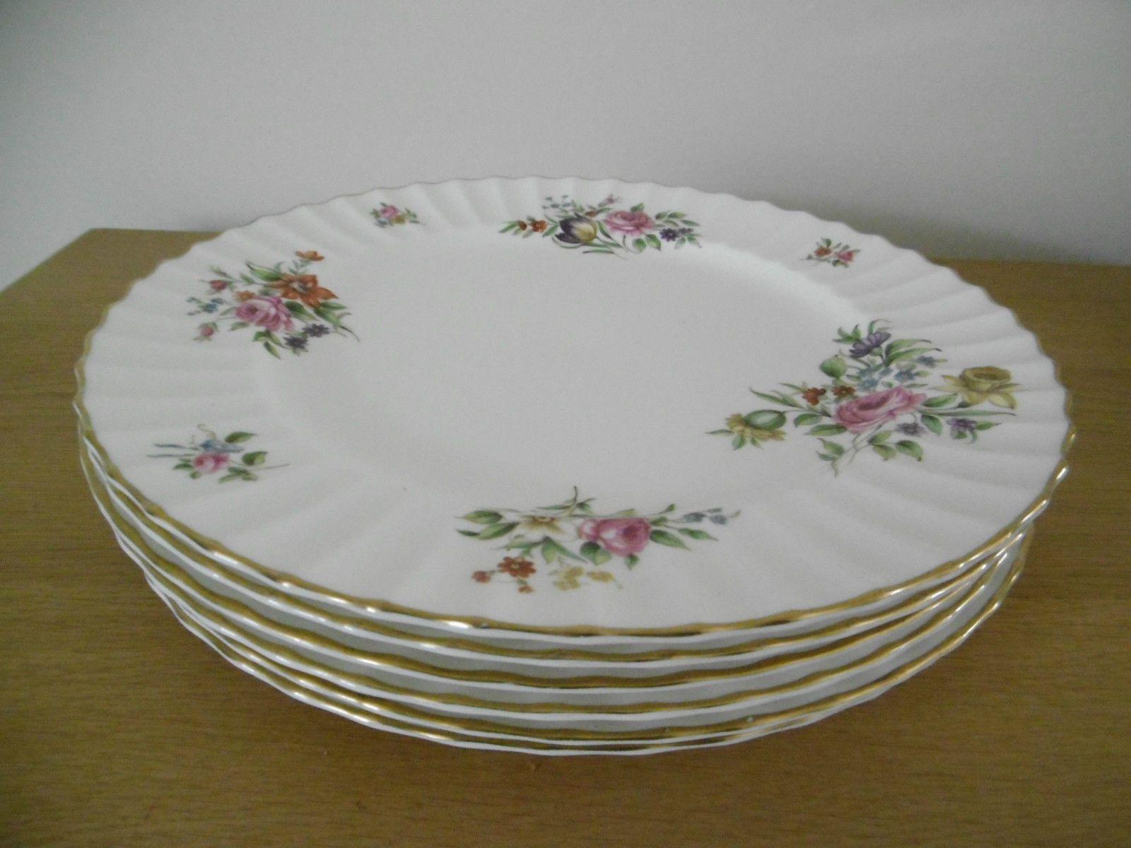 Boxed British Porcelain \u0026 China 1960-1979 Date Range   eBay. White Dinner PlatesBone ... & 6 x ROYAL WORCESTER - ROANOKE - WHITE - DINNER PLATES - Z2827 - FINE ...