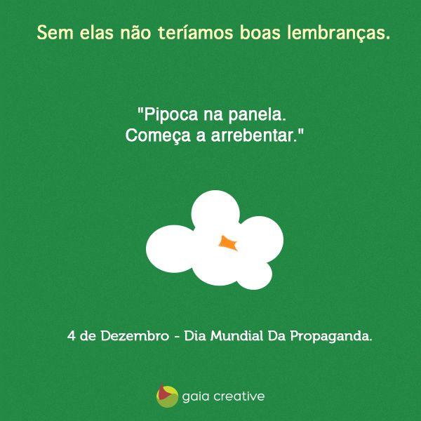 4 de Dezembro - Dia Mundial da Propaganda.