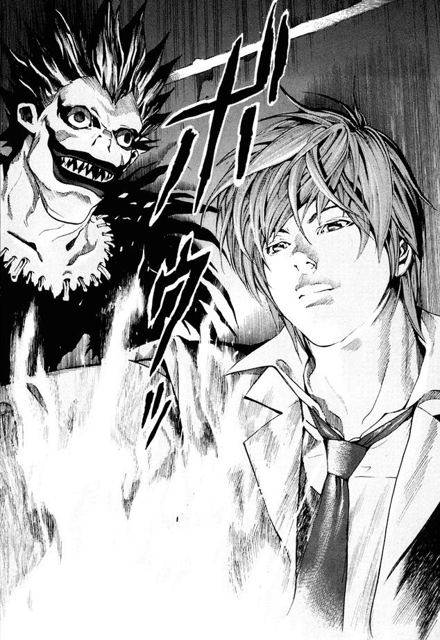 Tags: Death Note Manga, Light Yagami, Ryuk | who is I -i ...