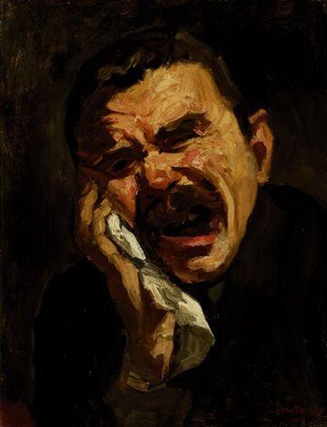 Floris Arntzenius (1864-1925) - Toothache