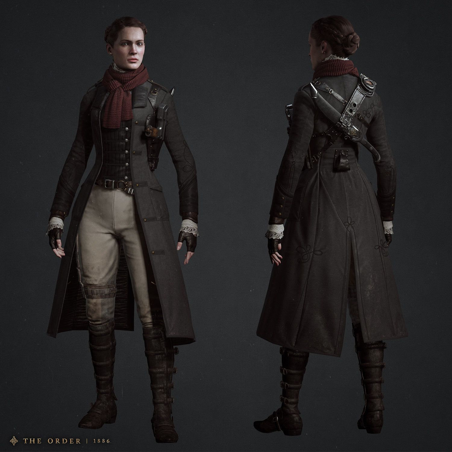 Character Costume Design Tutorial : Isabeau infiltration costume hisae jo watanabe on
