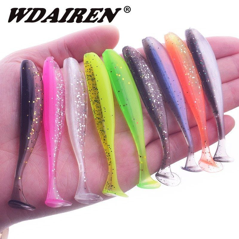 Easy Shiner Fishing Lures Wobblers Carp Fishing Soft Lures Silicone Artificial