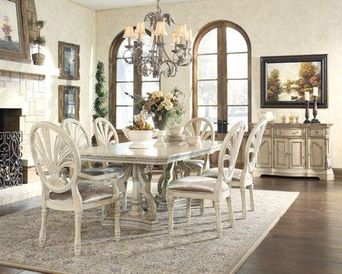 Ortanique Light Opulent Color Dining Room Set