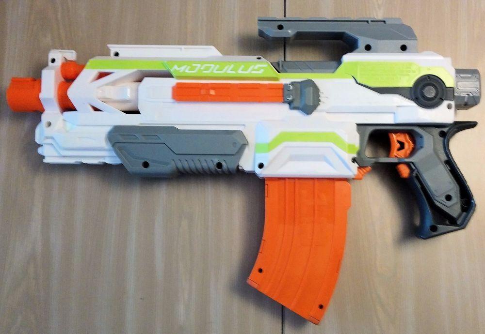 NERF Modulus Dart Gun with ammo clip ECS-10 core blaster N-Strike #