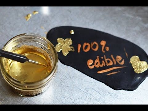 Edible Metallic Food Coloring Review | Artisan cake company ...