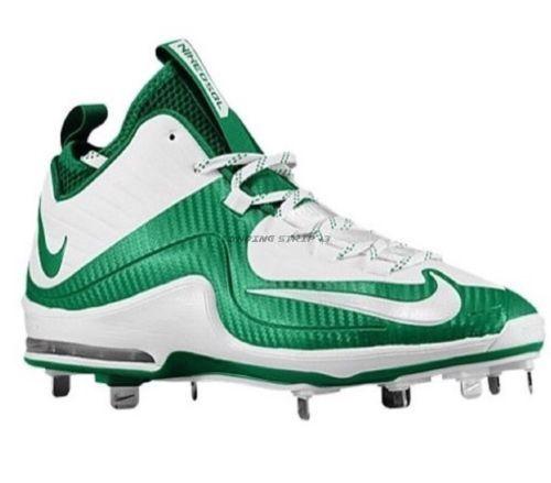 Nike Air Max MVP Elite 2 3/4 Metal Baseball Cleats Green 684687-113
