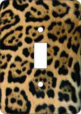 Leopard Print Light Switch Covers